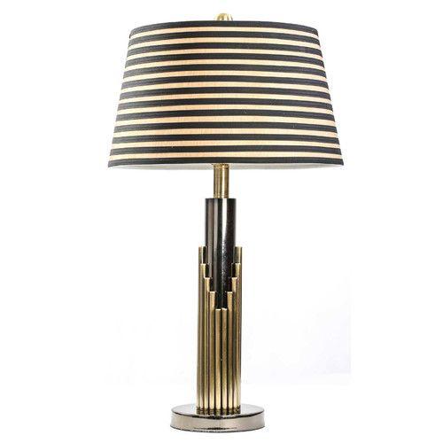 Found it at wayfair metal art deco 25 table lamp