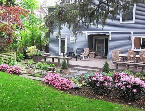 Ridge Drive Port Washington Landscaping Design | Deck, Patio ...