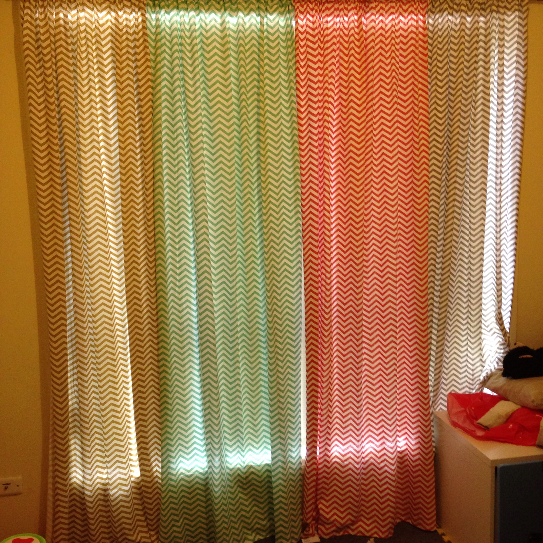 Chevron curtains diy | Diy curtains, Chevron curtains ...