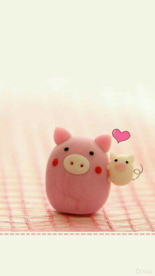 Pin By Lau Penaranda On Fitness Pig Wallpaper Pig Pictures Kawaii Pig