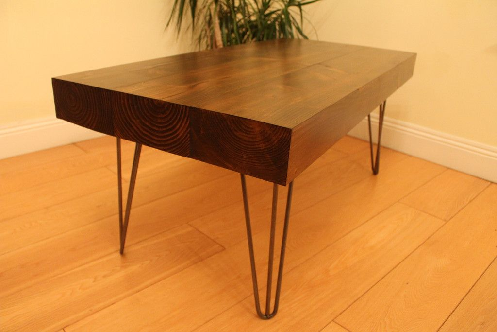 Sleeper Coffee Table Hairpin Legs This Is A Handmade Solid