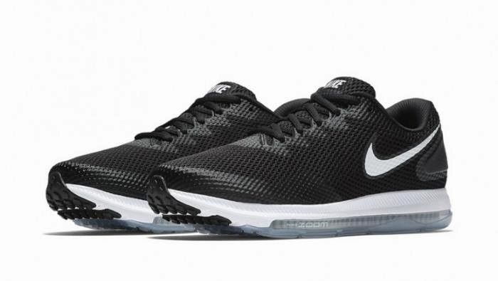 b0eea8f1ea4e8 Nike Zoom All Out Low 2 Mens Running Shoes Black White AJ0035 003  Nike   RunningShoes