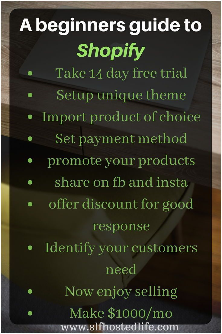 Start shopify and keep thses tips handy for instant