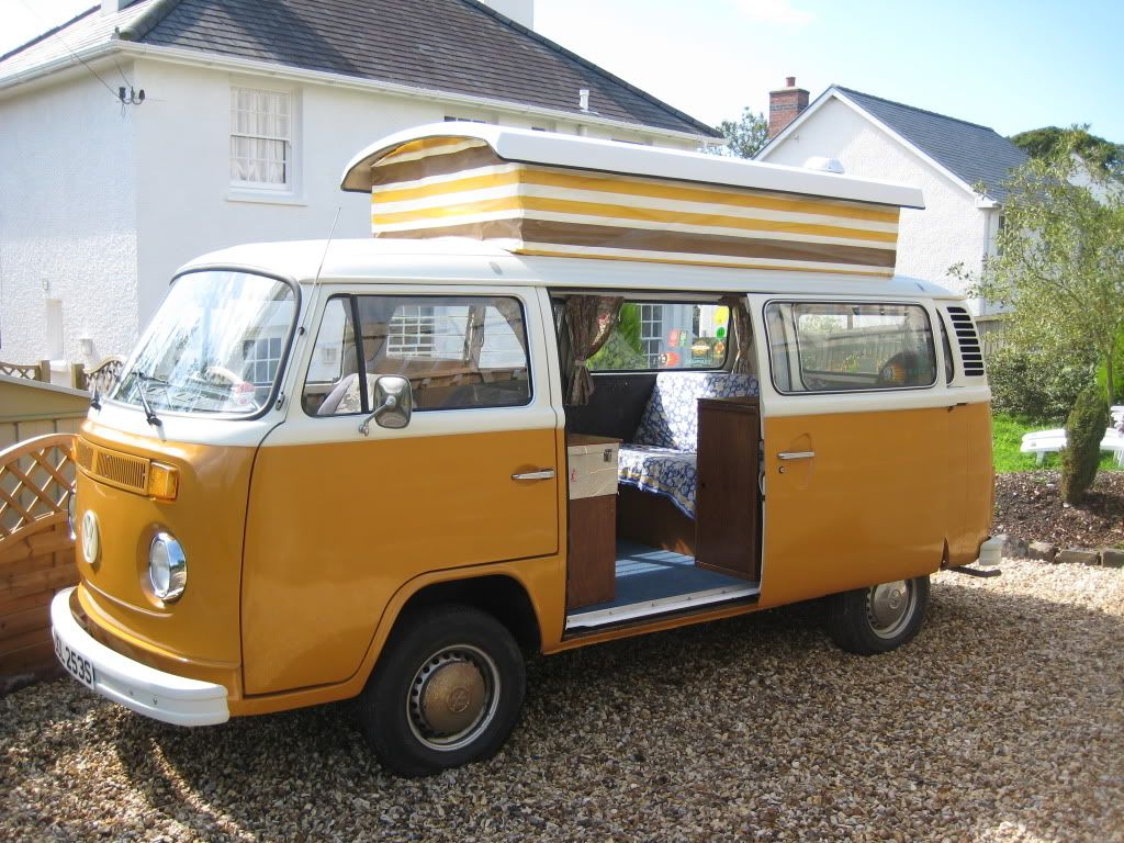 For Sale VW T2 1978 Devon Conversion Camper Van