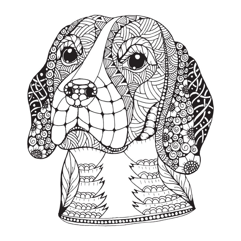 Pin By Jana Hochbach On Coloring Pages Dog Coloring Book Beagle Art Dog Coloring Page [ 1024 x 1024 Pixel ]