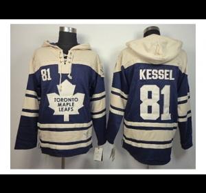 nhl jerseys toronto maple leafs 81 kessel blue-cream(pullover hooded  sweatshirt) ... 9ac58d790