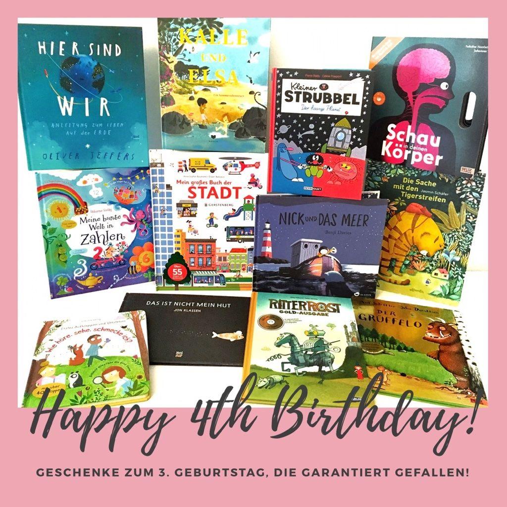 Kinderbuch Tipps Zum 4 Geburtstag Geschenke Die Garantiert
