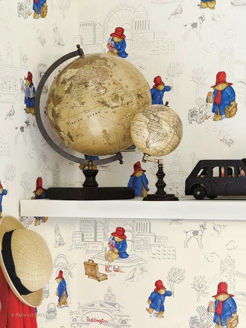 Paddington Bear Wallpaper Cool For A Nursery Lovely Settings