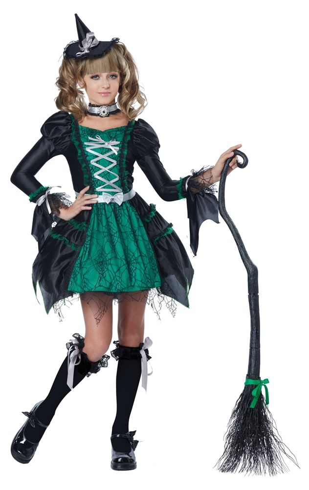 Spiderina Witch Child Costume - 352691 | Kids Halloween Costumes ...