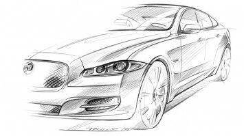 Jaguar Xj Sketch Designing Britain Design Dossier Pinterest