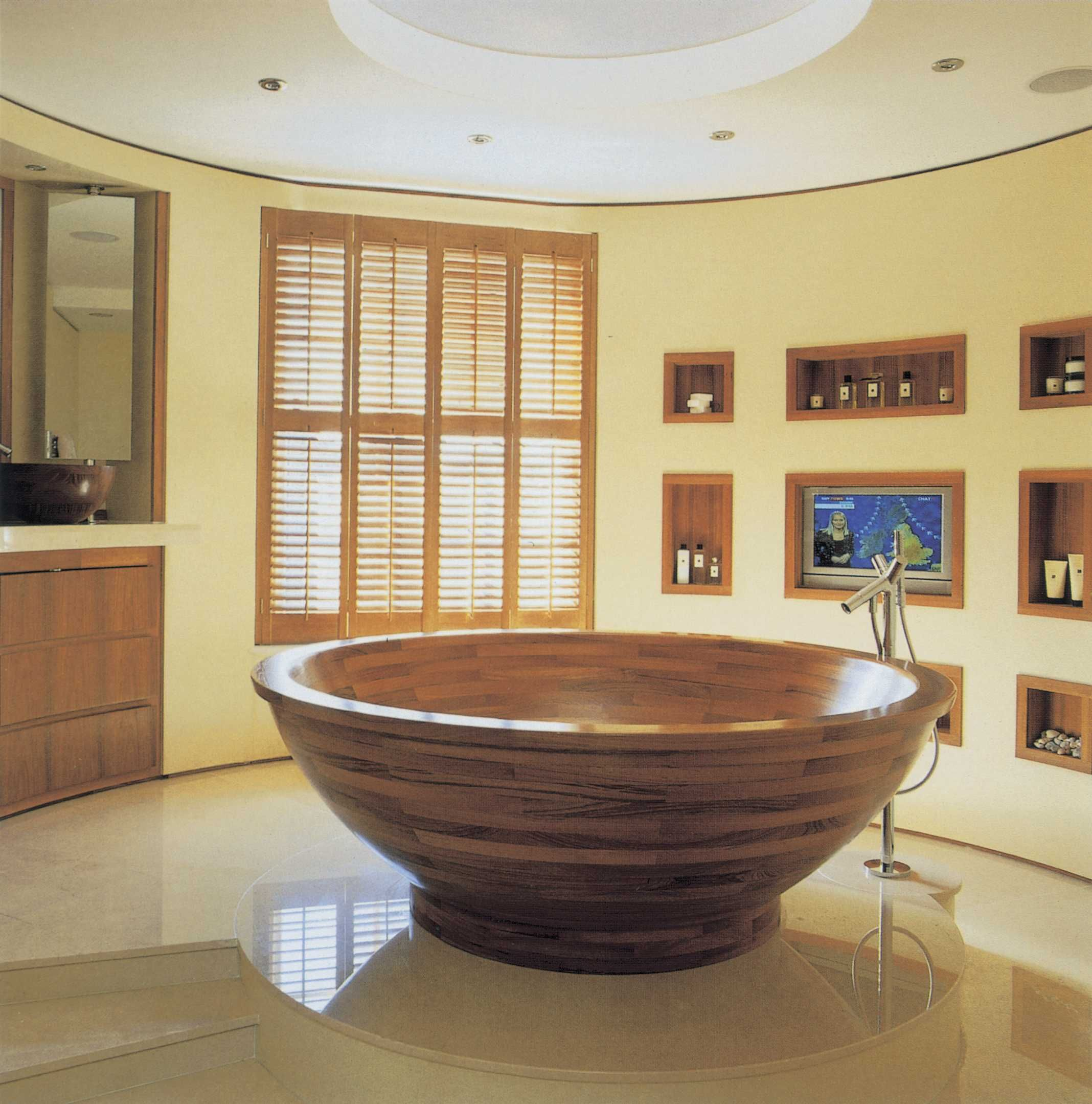 Exquisite Teak Wood Bathroom Accessories Reaching The Absolute