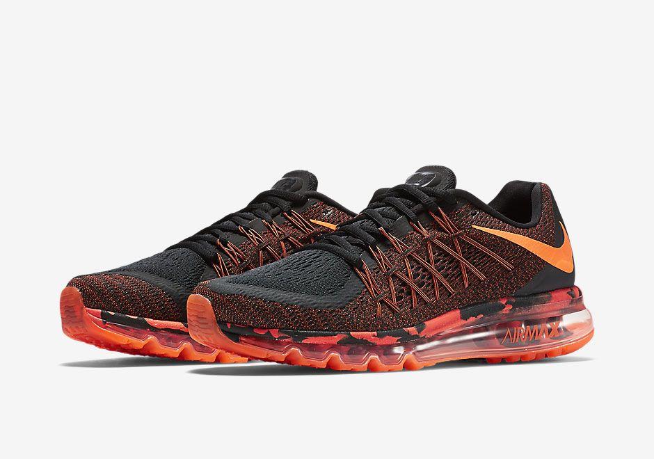 low priced 69890 7b246 Nike Air Max 2015  Black Orange