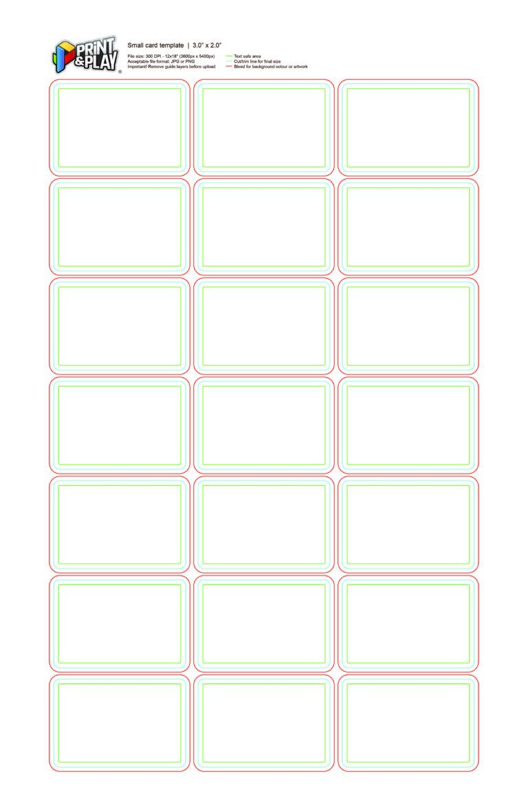 Playing Cards Formatting Templates Print Play Within Template For Game Cards In 2020 Printable Playing Cards Printed Cards Card Templates Printable