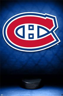 Montreal Canadiens Official Team Logo Poster Costacos Montreal Canadiens Hockey Canadiens Montreal Canadiens