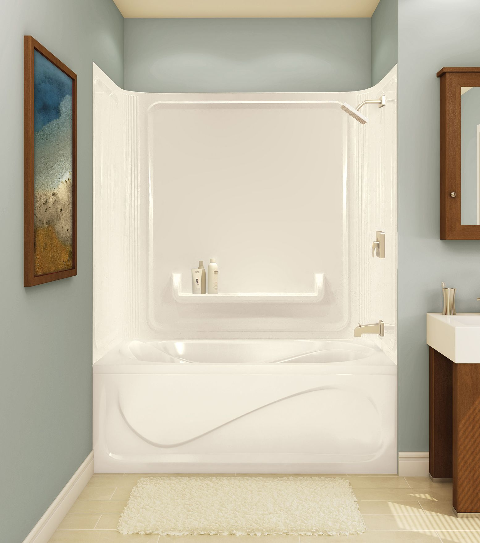 59 Chateau Tub walls shower - Advanta by MAAX | maax | Pinterest ...