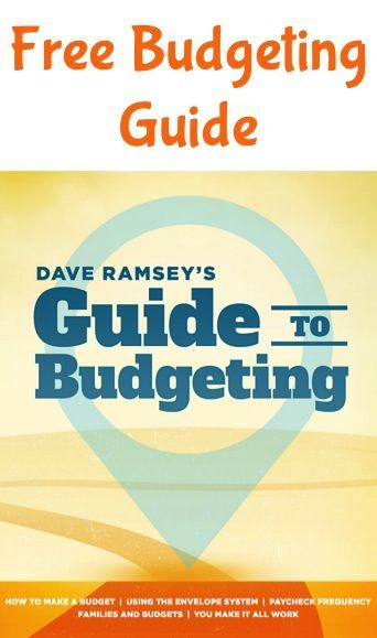 How to Make a Budget - FREE Dave Ramsey Budgeting Guide! Learning - dave ramsey budget spreadsheet template