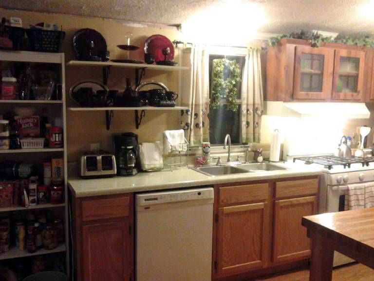 6 Great Mobile Home Kitchen Makeovers   Mobile Home Living   Kitchen remodel small, Mobile home ...