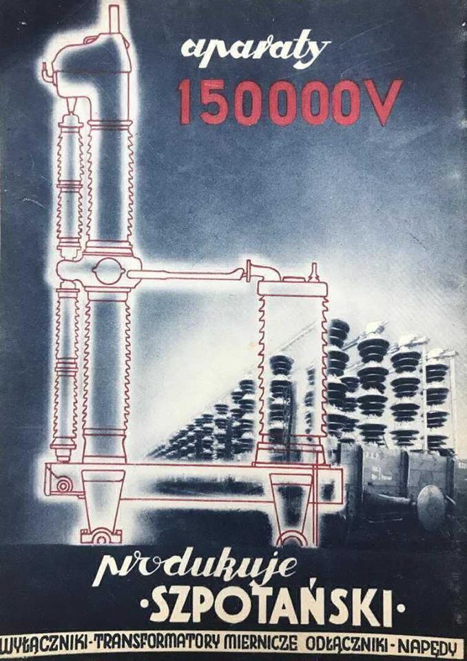 Przedwojenny Plakat Reklamowy K Szpotański I Ska History