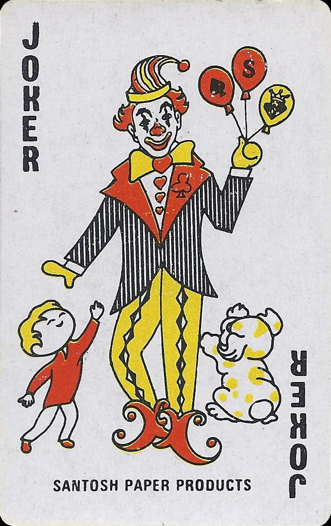 Joker Of The Day Santosh Paper Products Joker Playing Card Joker Card Doodle Cartoon
