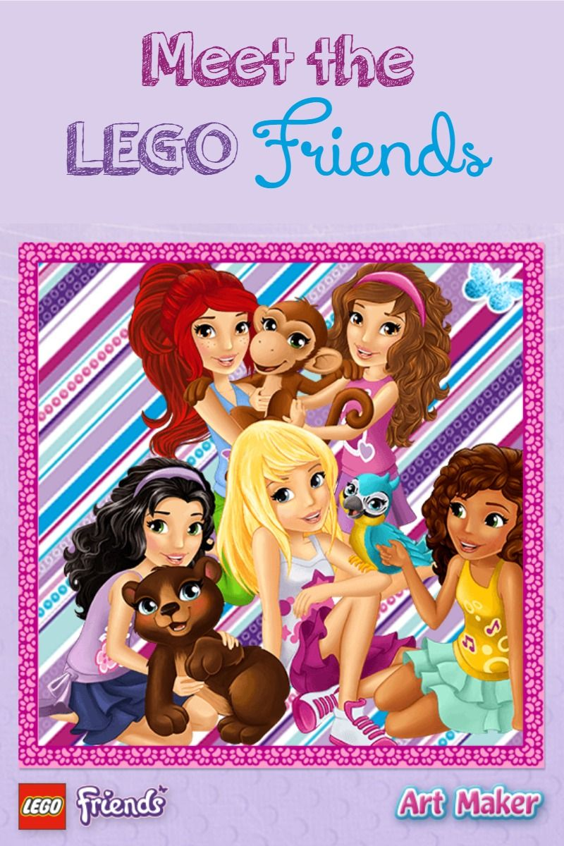 Meet The Lego Friends Games Characters Mykidsguide Birthday