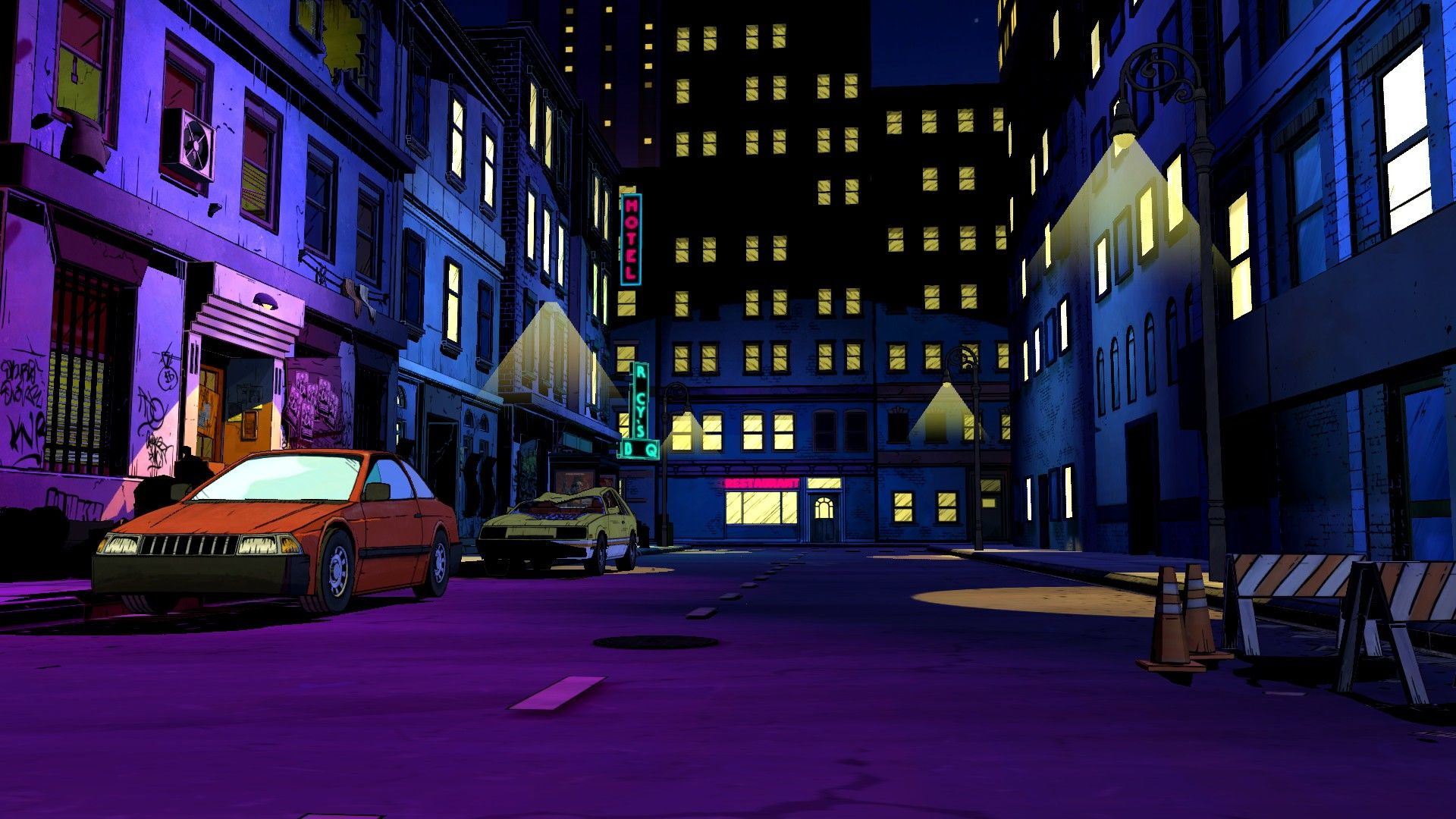 Visual Novel Background Street Background Background City Cartoon