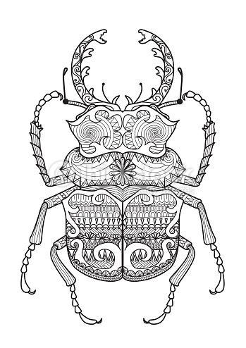 escarabajo vector - Buscar con Google | 38 fic | Pinterest