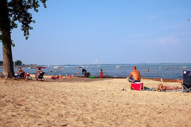 Ohio Beaches Images Check Out These Sandy Lake Erie Near Toledo Jpg