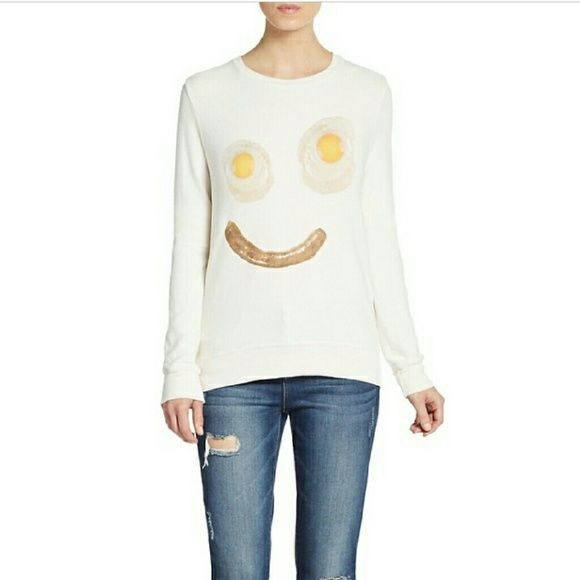 *ISO* Wildfox Wakey Wake BBJ Size Medium Please Share & Help Me Find This Silly BBJ!! : )$No Outrageous Prices Please!$ Thank You! xoxo Wildfox Sweaters Crew & Scoop Necks