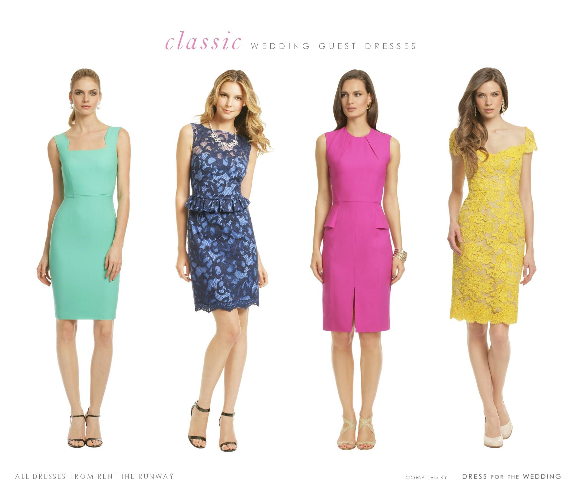 Summer Wedding Guest Dresses for Rent | Summer wedding guest ...