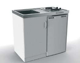 Miniküche Mit Kühlschrank Yamaha : Miniküche mit kühlschrank cm breit küche für apartment