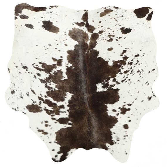 Chocolate Brown And White Cowhide Rug Cow Hide Rugs By The