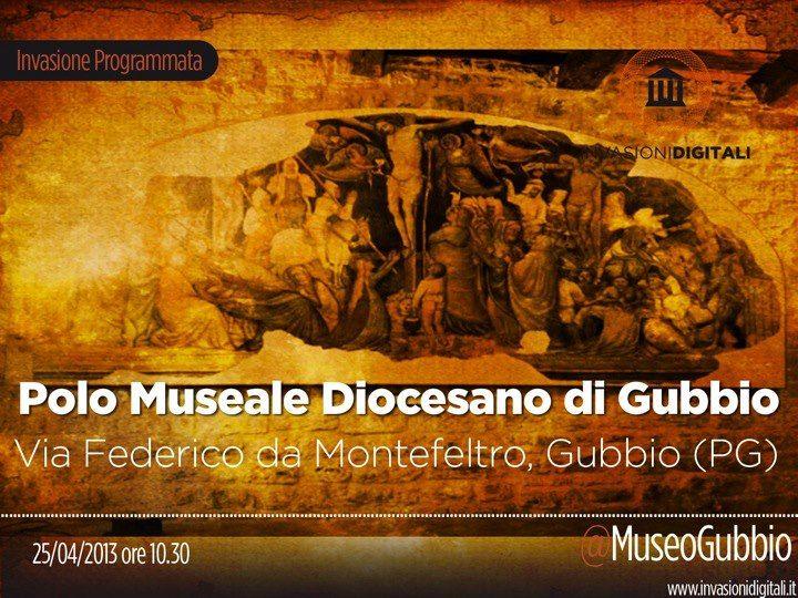 #InvasioniDigitali il 25 aprile alle ore 10:30 Invasore: MuseoGubbio