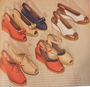 1e81fe1086e 10 Popular 1940s Shoes Styles for Women
