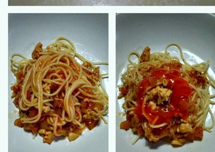 Resep Spaghetti La Fonte Saus Bolognese Oleh Nenchille Fera Resep Resep Spageti Saus Sambal