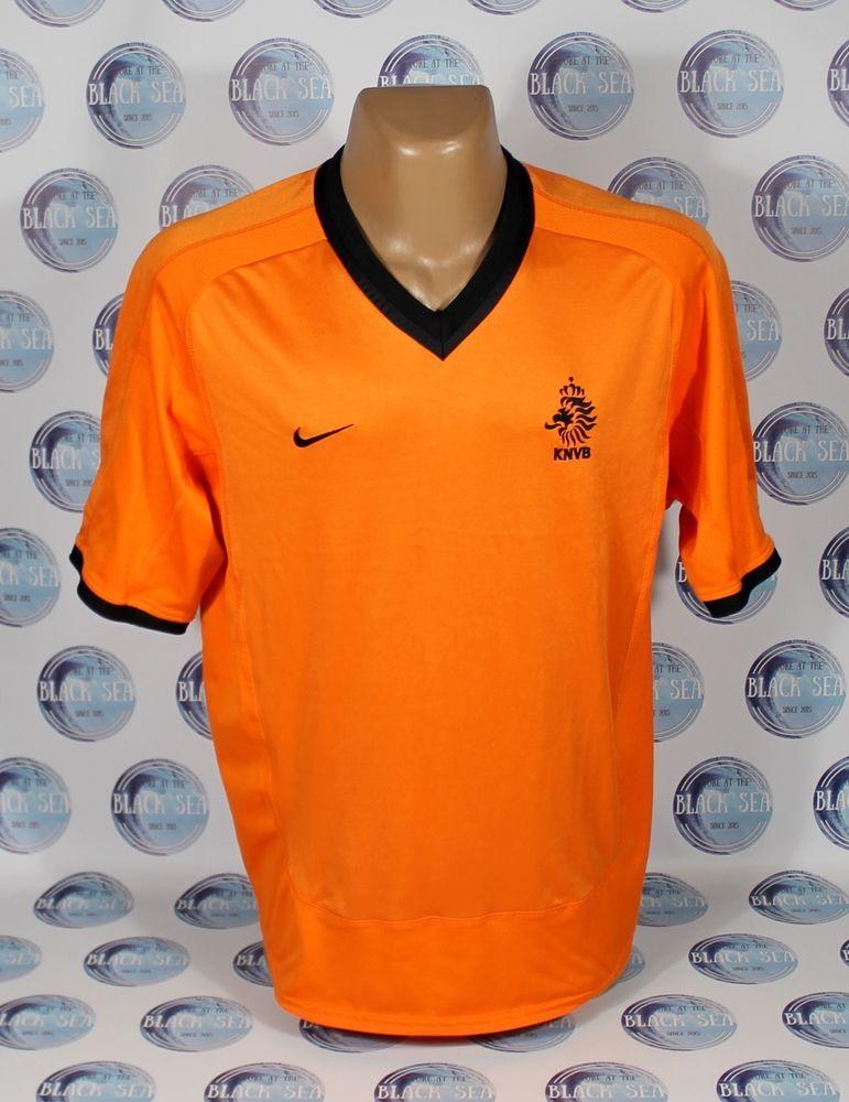 a825de8c631 NETHERLANDS NATIONAL TEAM 2000 2002 FOOTBALL SOCCER SHIRT JERSEY TRIKOT  NIKE XL  Nike  Netherlands