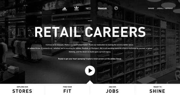 Adidas Retail Careers | Digital | 013.3 | Retail, Adidas und