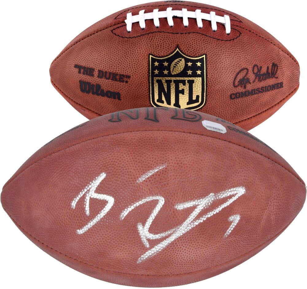 396deff0b NFL Pittsburgh Steelers Ben Roethlisberger Signed Football ...