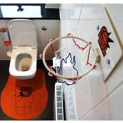 Perfect For The Manly Man Bathroom With Images Slam Dunk