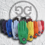 G/Fore's colorful gloves make any round brighter.