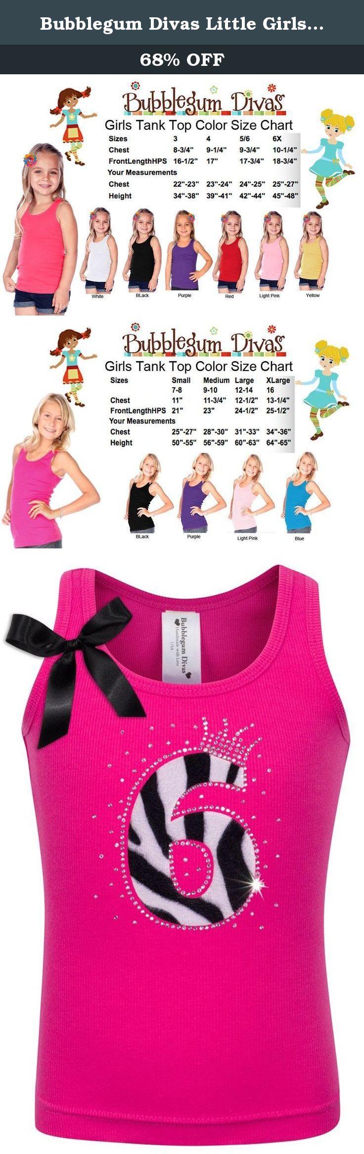 Bubblegum Divas Big Girls 8th Birthday Princess Zebra Print Animal Shirt