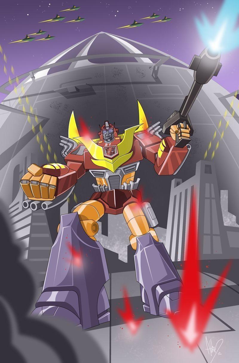 Hot rod transformers art 80s cartoons transformers