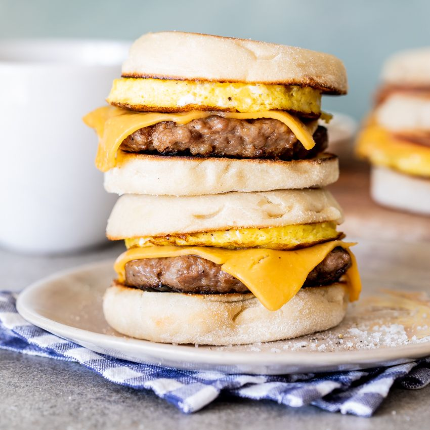 Easy freezer breakfast sandwiches recipe frozen