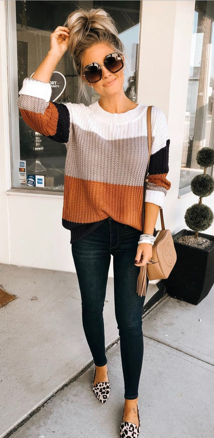 Photo of casual fall outfit