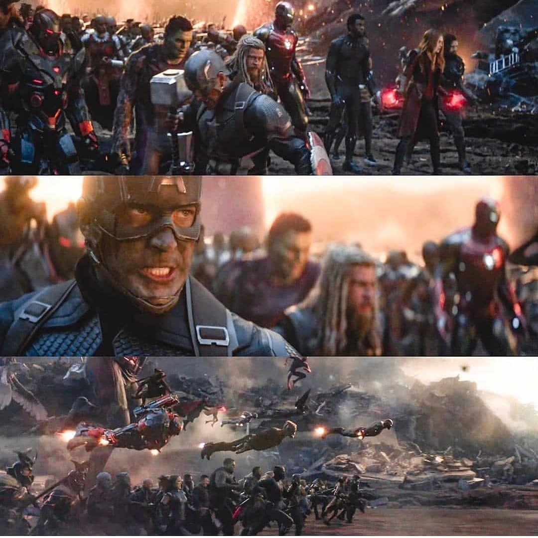 """Captain America On Instagram: """"Avengers Endgame Getting Re"""