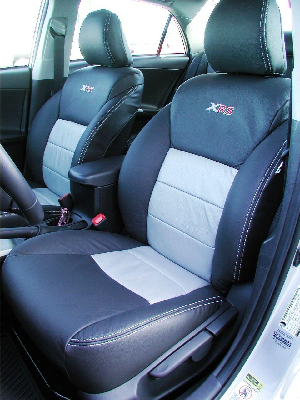 Toyota corolla xrs custom automotive leather seats