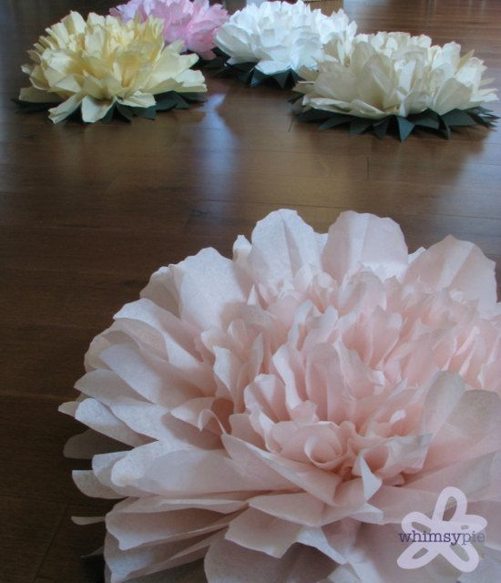 Lucky peony 5 giant tissue paper flowers wedding by whimsypie 5 giant tissue paper flowers wedding by whimsypie mightylinksfo Images