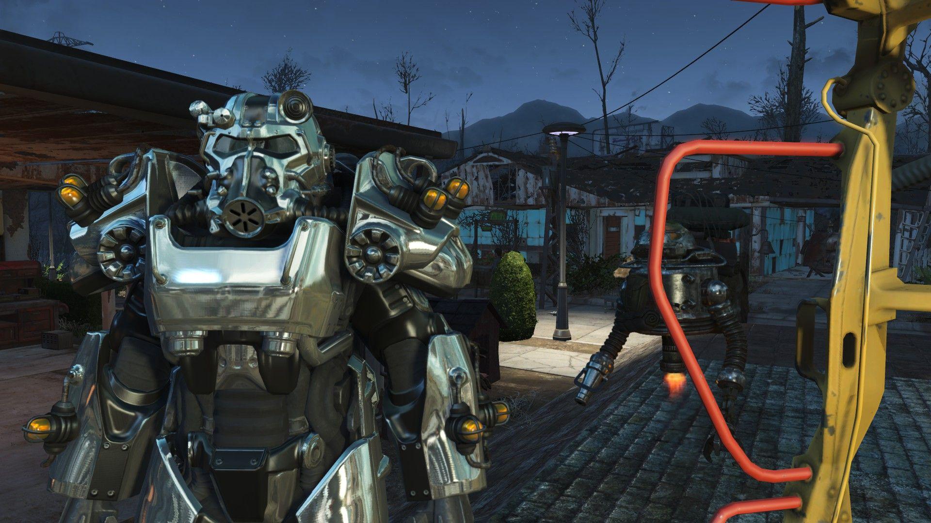 Worsin's Immersive Power Armor Garage - Automatron compatibility