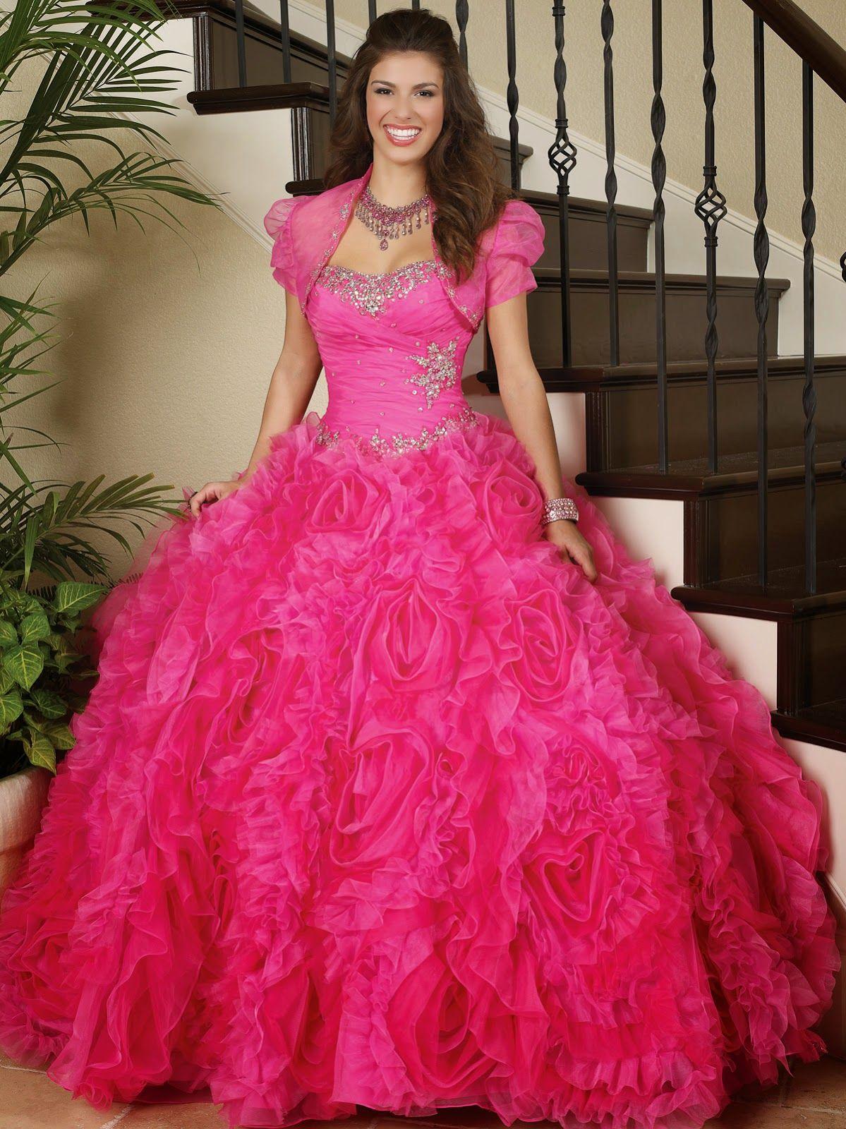 Vestidos de 15 años | Colección | vestidos increibles | Pinterest