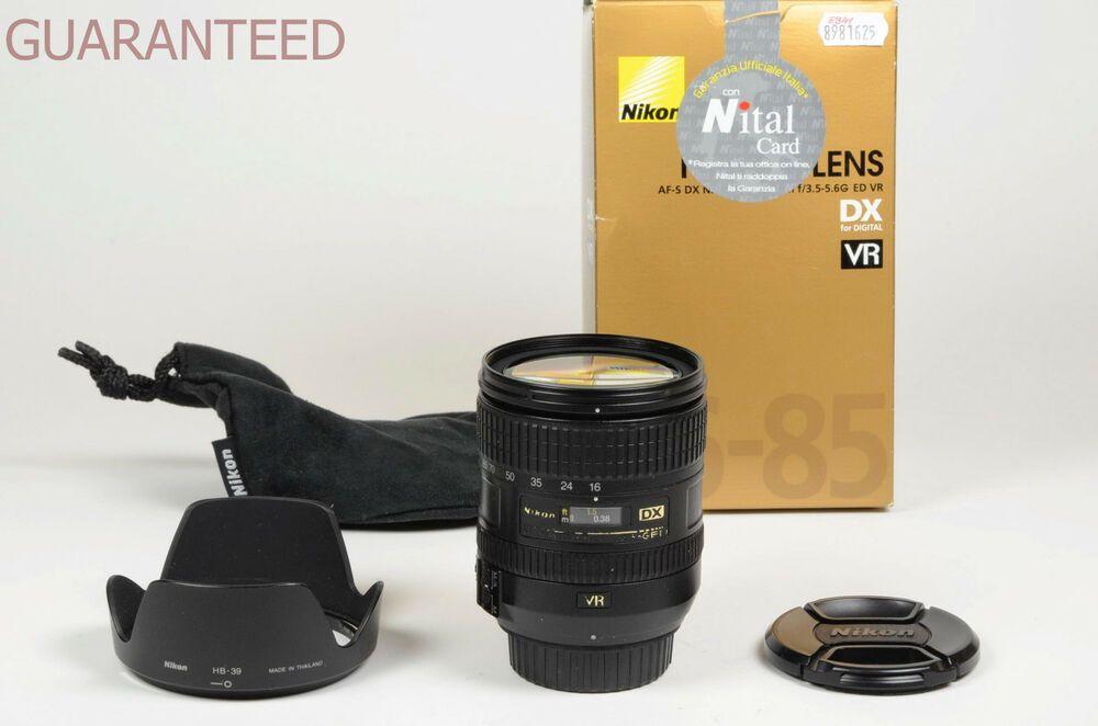 Nikon Lens 16 85 Mm F 3 5 5 6 G Ed Nikkor C Paraluce Garanzia Tuttofoto Com Category Stuff To Buy