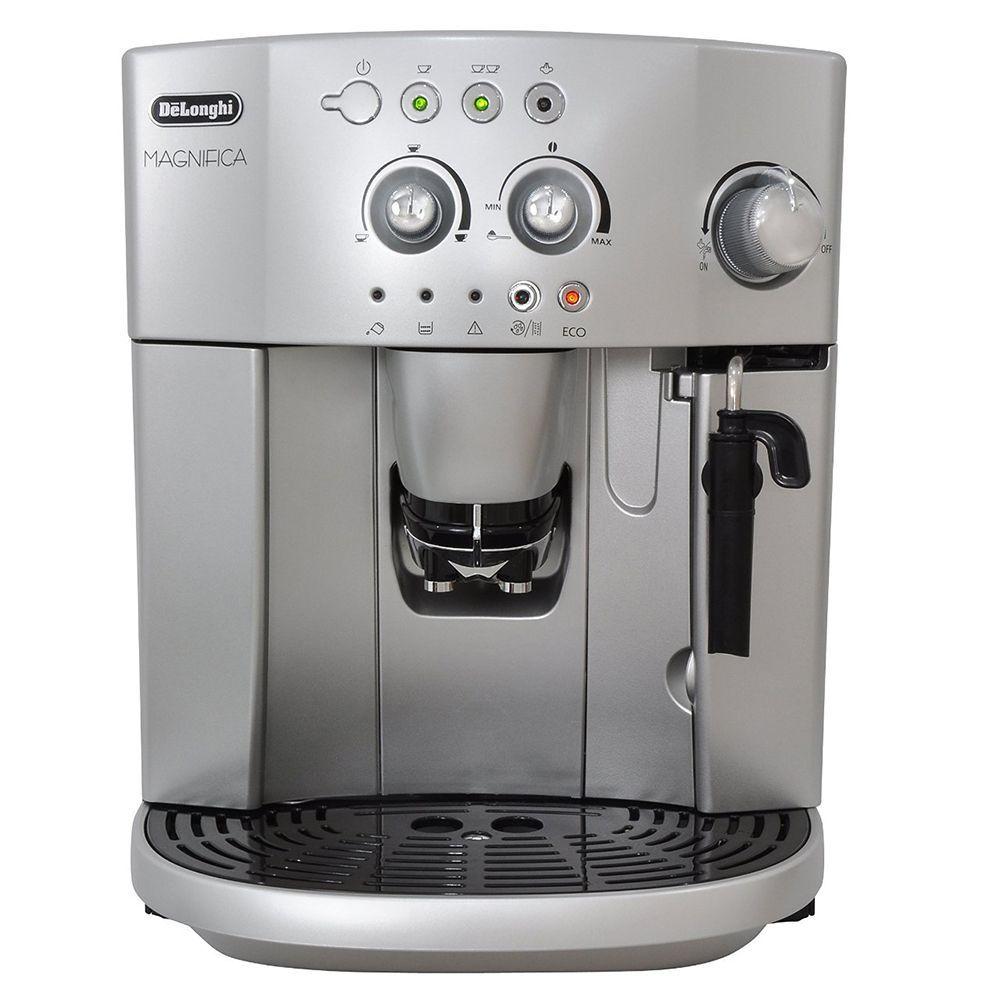 Review De Longhi Magnifica Esam4200 Bean To Cup Espresso Cappuccino Coffee Machine Myloveforcappuccino Cappuccino Machine Cappuccino Coffee